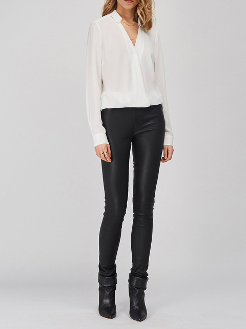 Campbell leather legging