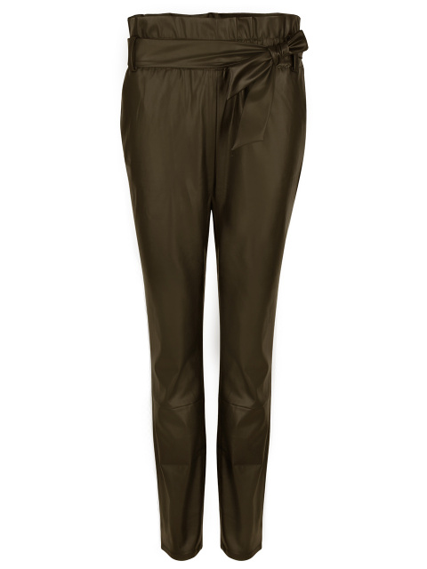 Duncan faux leather pants