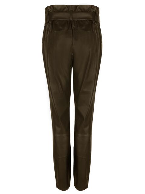 Duncan faux leather pants