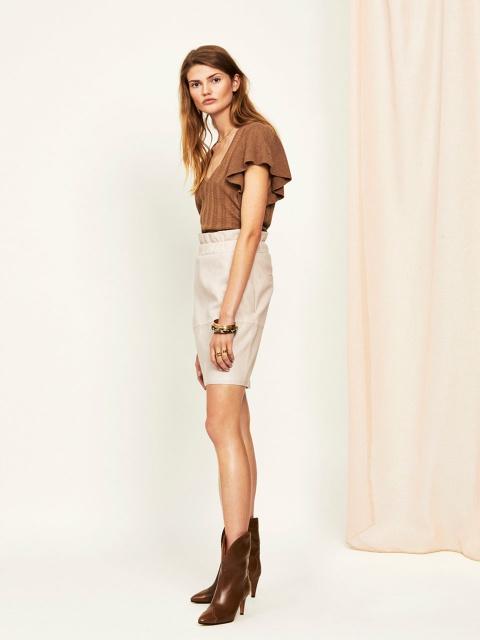 Adyn Leather skirt