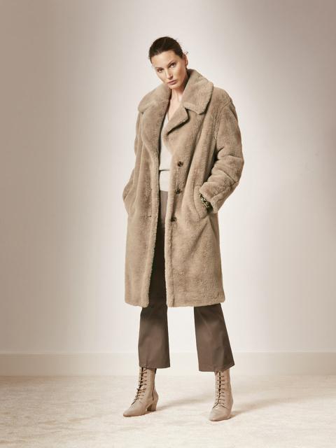 Peluche coat