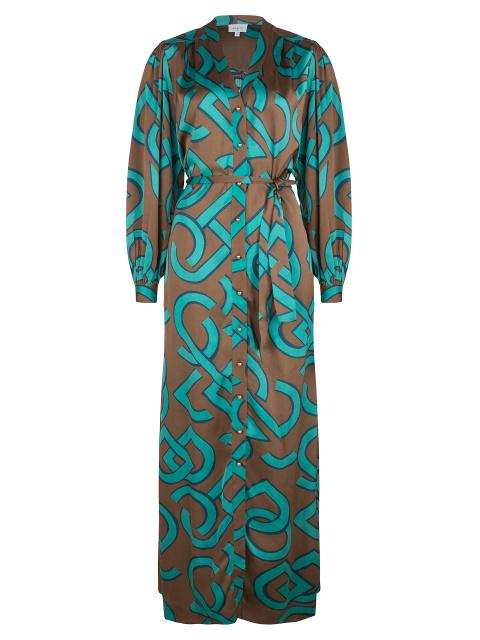 Magnify maxi dress