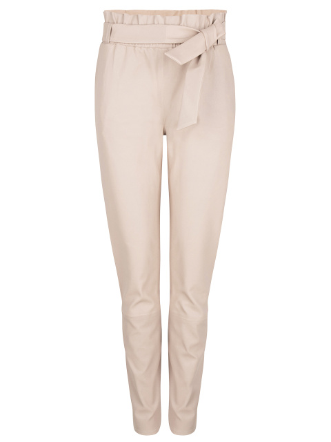 Duran stretch leather pants