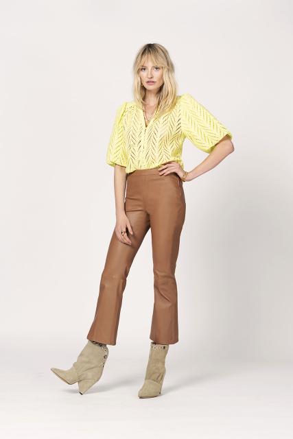 Tyson crop flare pants